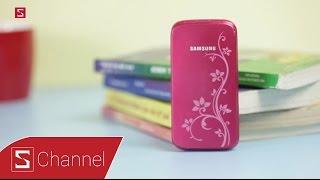 Schannel - Ngược dòng thời gian siêu phẩm nắp gập Samsung C3520 cùng Tân Một Cú