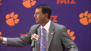 TigerNet.com - Dabo Swinney blasts reporter using