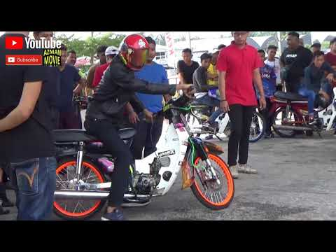 DRAG BIKE 4t 110 Std Body Drag Racing Kubang Menerong Ogos 2018