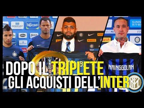 Tutti gli ACQUISTI dell'Inter dal post Triplete ad oggi