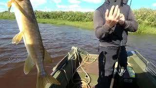 Рыболовные база на реке ловать