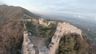 Rocca di Pietracassia e Rocca della Verruca in FPV 4K.