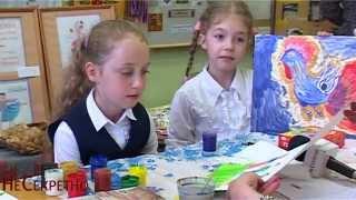 Катя Медведева учит пермяков рисовать Счастье