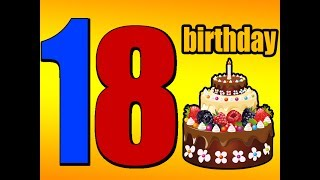 18th BIRTHDAY Messages, Wishes, Quotes, Greetings - 18th bday