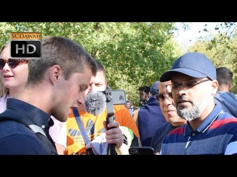 P1 - You want Virgins!?! Hashim Vs Visiting Christian | Speakers Corner | Hyde Park
