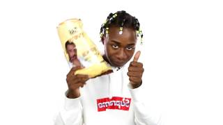 "Zay Hilfigerrr Taste Tests Fabolous Rap Snacks ""New York Deli Cheddar"" and Gives Honest Review"