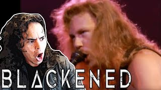Metallica: Blackened [Live Seattle 1989] - REACTION!