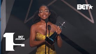 Marsai Martin S Bet Awards Reaction Is Now The Internet S