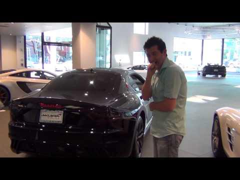 Maserati GranTurismo MC Start up, Rev up, and test drive!