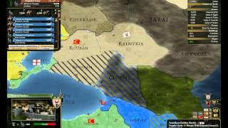 EU3オスマン帝国14対ティムール戦なかだるみ