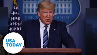 President Trump and Coronavirus Task Force give updates on coronavirus pandemic | USA TODAY