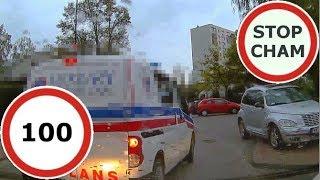 Stop Cham #100 - Niebezpieczne i chamskie sytuacje na drogach
