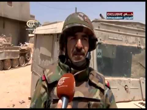 الجيش السوري يعثر على جيب إسرائيلي في القصير