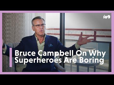 Bruce Campbell Calls Superheroes 'Snoresville,' Batman v Superman 'Stupid'