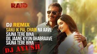 Gambar cover Sanu ek pal chain na awe | Latest Raid Movie Song | Dj Sad Mix | Dj Ayush