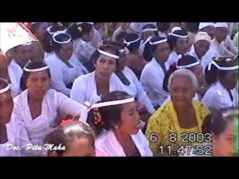 Upacara Melasti | Karya Pura Dalem Bentuyung 2003