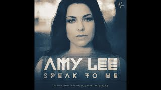 NEW AMY LEE Speak To Me