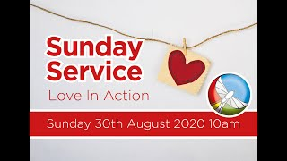 Sunday 30th August Service