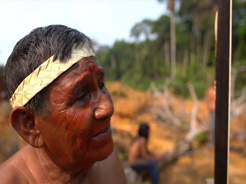 """[UNTV]  """"Until my last drop of blood""""- Amazon tribe vows to protect sacred land"""