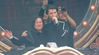 Don Diablo And His Mother On Tomorrowland! Посвещается нашим родителям!