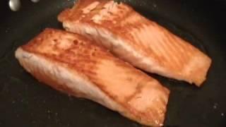 Garlic Ginger Basil Salmon
