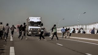 Мигранты в Кале стали агрессивнее по отношению к полиции (новости)