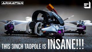 "The BEST 3"" Tadpole Setup | Armattan Quads | FPV Vlog"