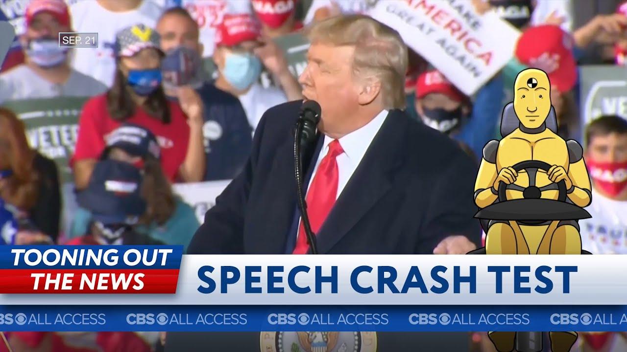Donald Trump's speech fails crash test thumbnail