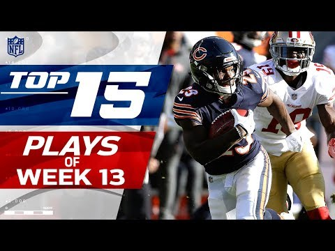 Top 15 Plays of Week 13 | NFL Highlights