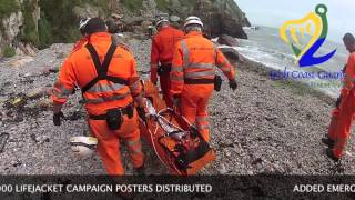 preview picture of video '2012 - A Year In Review: Irish Coast Guard, Howth Unit'