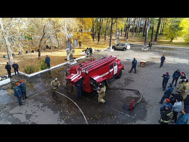 Самые ловкие пожарные живут в Ангарске