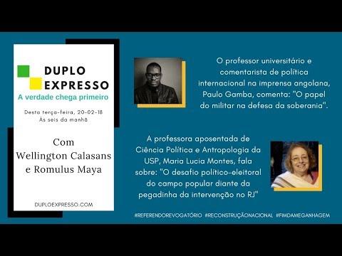 Assista A Duplo Expresso 20fev2018 No Youtube