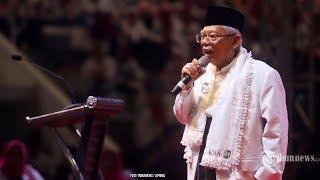 Ma'ruf Amin Larang Pendukung Berkampanye dengan Hoaks dan Meminta Tak Memprovokasi