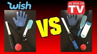 Wish vs As Seen on TV: 5 Items Compared!