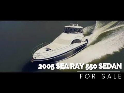 Sea Ray 550 Sedan Bridgevideo