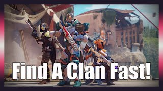 How To Find And Join Clans Easy In Destiny 2 Beyond Light - How To Find Clans As A New Player Guide