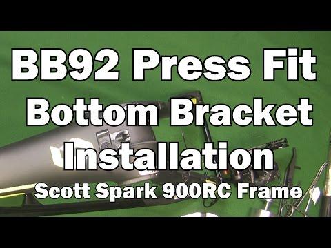 BB92 Press Fit Bottom Bracket Installation