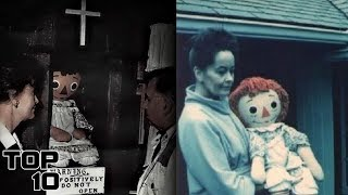 Top 10 Ed & Lorraine Warren Scariest Moments