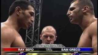 Ray Sefo vs. Sam Greco - K-1 GP