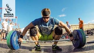 Кроссфит батл на Дворцовой площади! 2 мая 2016