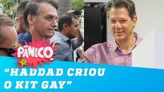 'O Haddad criou o kit gay', diz Jair Bolsonaro