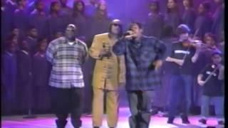"""Coolio ft. L.V. & Stevie Wonder! """"Gangsta's Paradise"""" Live! [Billboard Awards 1995]"""