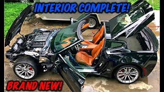 Rebuilding A Wrecked 2017 Corvette Z06 Part 10