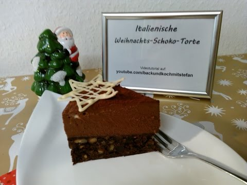 Italienische Weihnachts-Schoko-Torte / Rezept / Tutorial