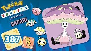Shiinotic  - (Pokémon) - Pokémon Shuffle Mobile | SHIINOTIC (Safari Completo)