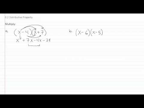 The Distributive Property p2