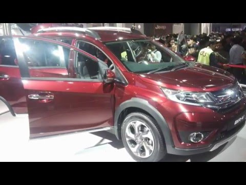 All New Honda BRV in India at Delhi Auto Expo 2016
