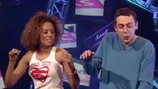Spice Girl Mel B makes Sean Hughes sassy - BBC