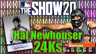 Hal Newhouser MLB RECORD 24 Ks - MLB THE SHOW 20 DIAMOND DYNASTY RANKED SEASONS