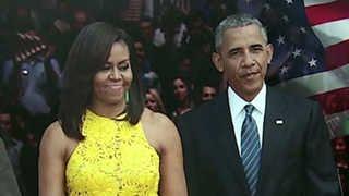 치솟는 오바마 부부 인기…임기말 맞아?